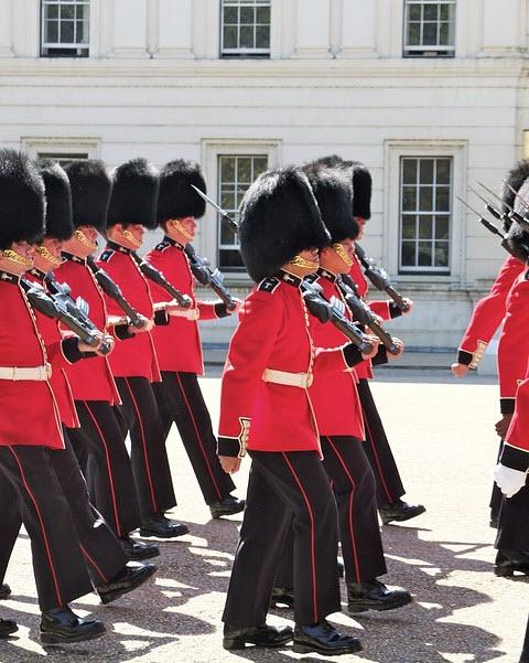 relève de la garde Buckingham