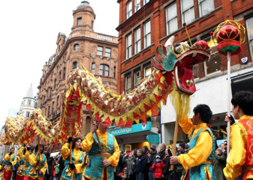 Nouvel an chinois Londres