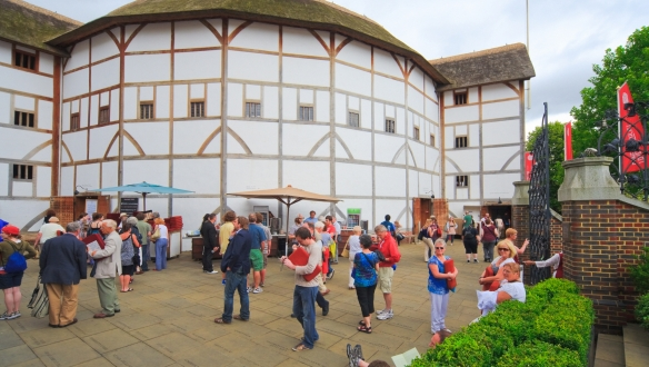 theatre globe shakespeare