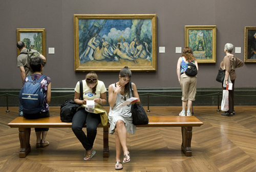 Une aile du musée