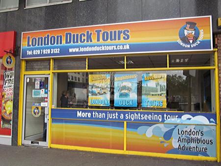 Boutique London Duck Tour