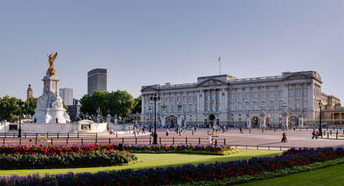 Buckingham Palace et Victoria Memorial