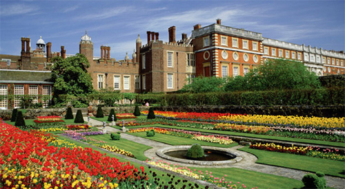 Jardin Hampton Court Palace