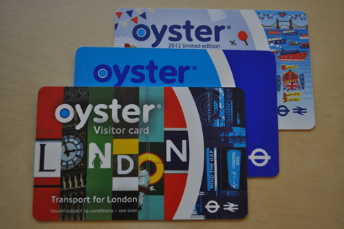 Cartes Oyster