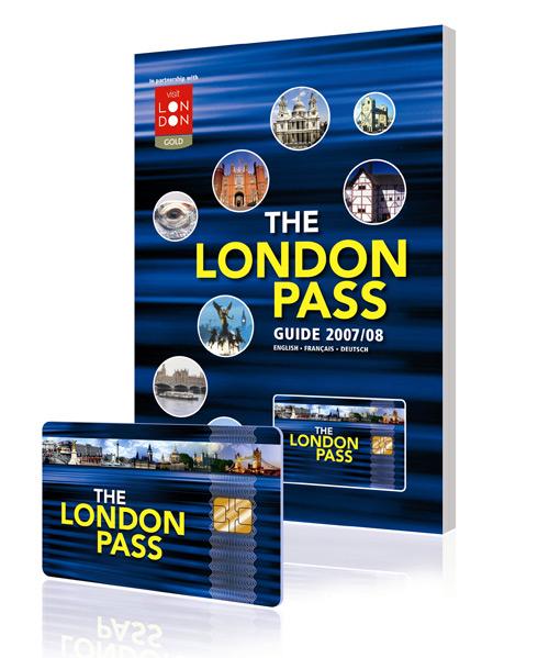 London Pass livré avec un guide