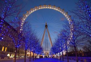 Le london eye, grande roue à Londres