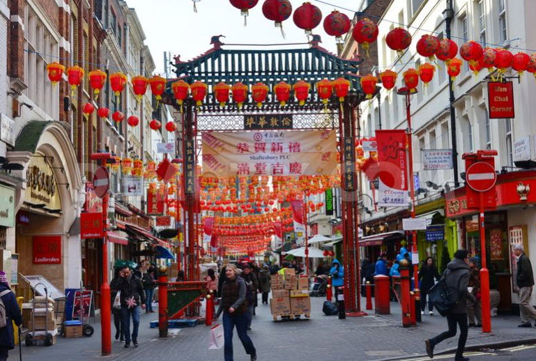 chinatown à Londres