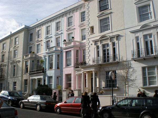 Visiter le quartier de notting hill - Quartier chic de londres ...