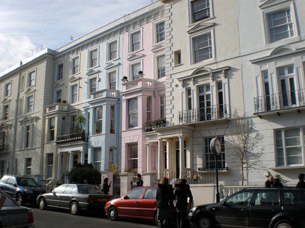 Visiter le quartier de notting hill - Quartier chic de londres ...