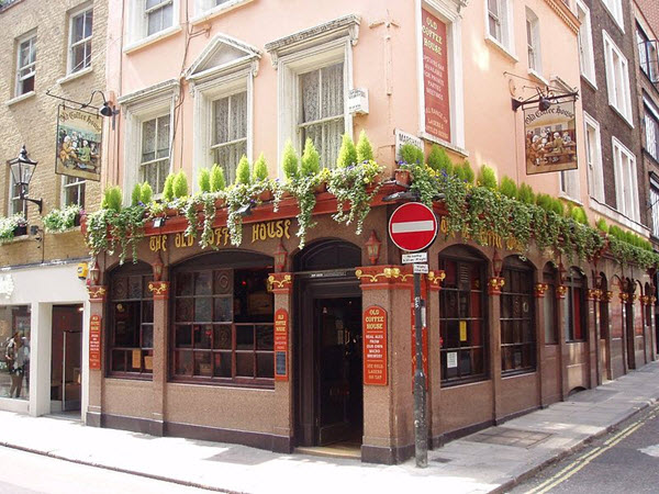 old coffee house pub soho