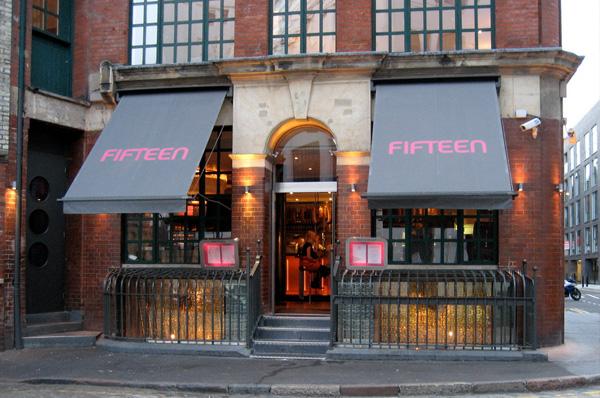 restaurant londres fifteen