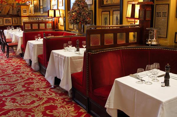 restaurant londres rules