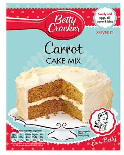 carrot cake supermarché angleterre