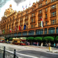 shopping Harrods londres