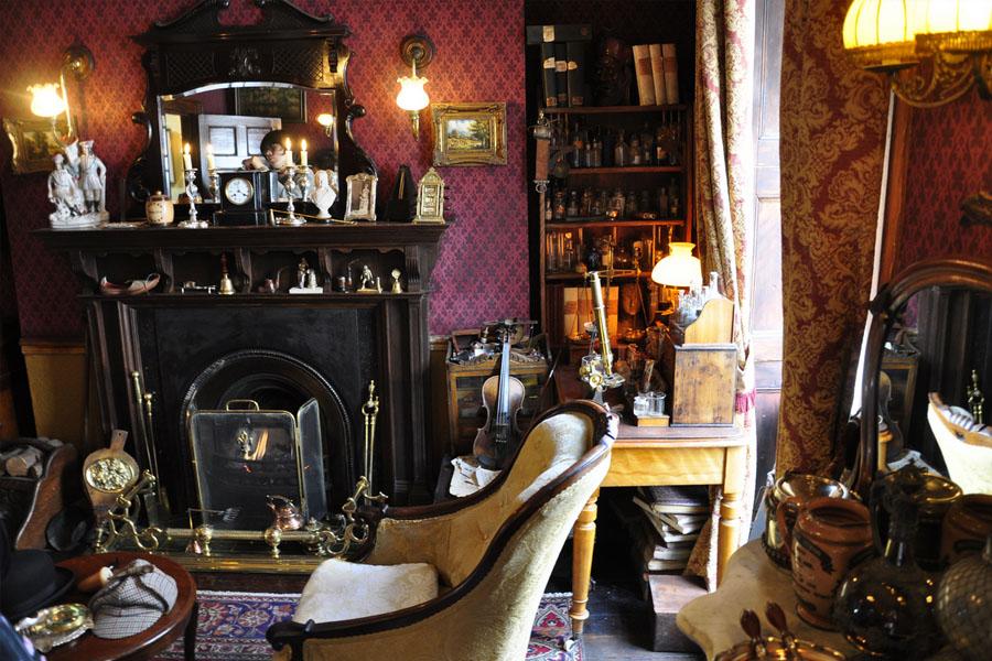 Le Mus 233 E De Sherlock Holmes 224 Londres