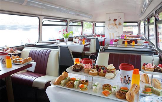 Afternoon Tea Bus Tour