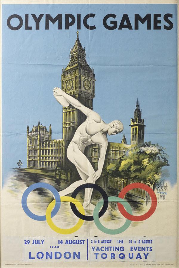 jeux olympiques londres affiche