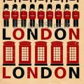 poster vintage londres