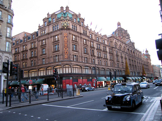 harrods shopping londres