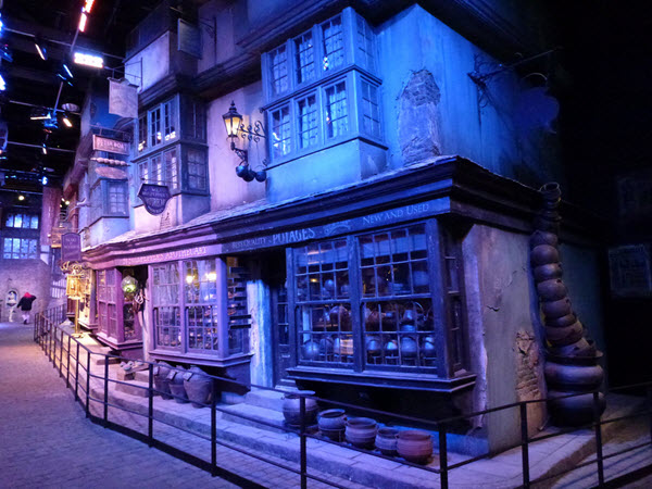 harry potter musee