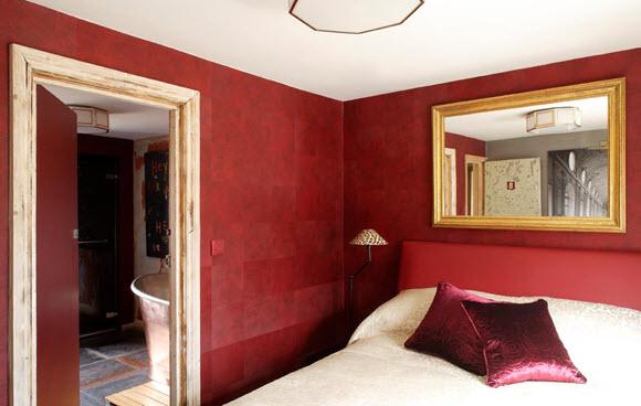 Rough Luxe chambre
