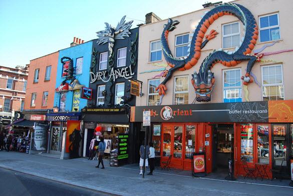 Londres et la musique rock id es de visites - Quartier londres shopping ...