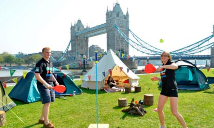 camping Londres