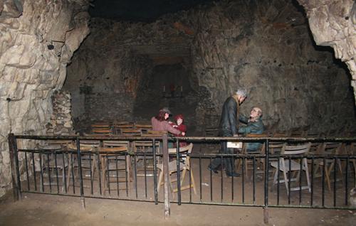 grottes de Chislehurst